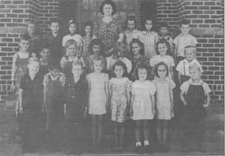 Second Grade Class 1944-45